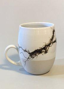 Tasse - Stahlwolle - 12,5 x 9 cm