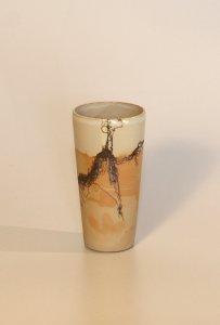 Becher - Stahlwolle - 14 x 7 cm