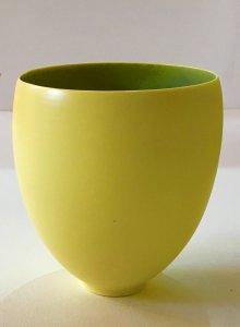 Schälchen - gelb - 11 x 9,5 cm