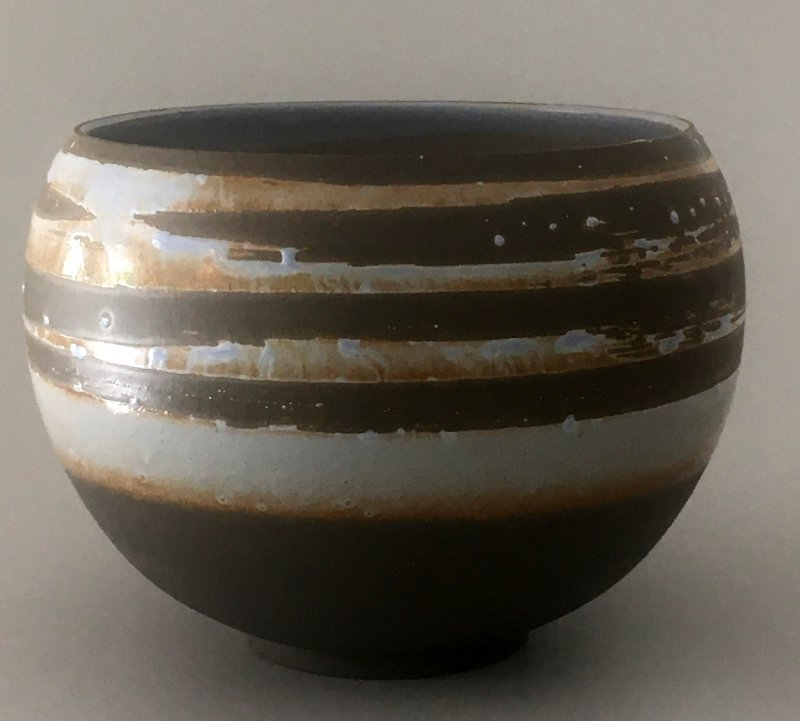 Schüssel - anthrazit - 13 x 15 cm